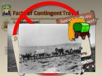 facts of contingent travel