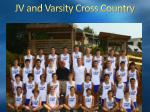 jv and varsity cross country