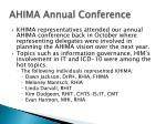 ahima annual conference