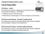 cronotermostato easy1
