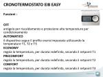 cronotermostato eib easy
