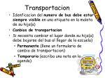 transportacion