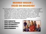 business english ingl s de negocios