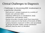 clinical challenges to diagnosis
