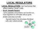 local regulators