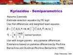 kyriazidou semiparametrics