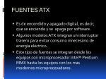 fuentes atx