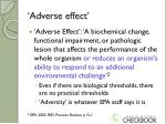 adverse effect1