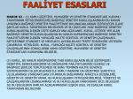 faal yet esaslari