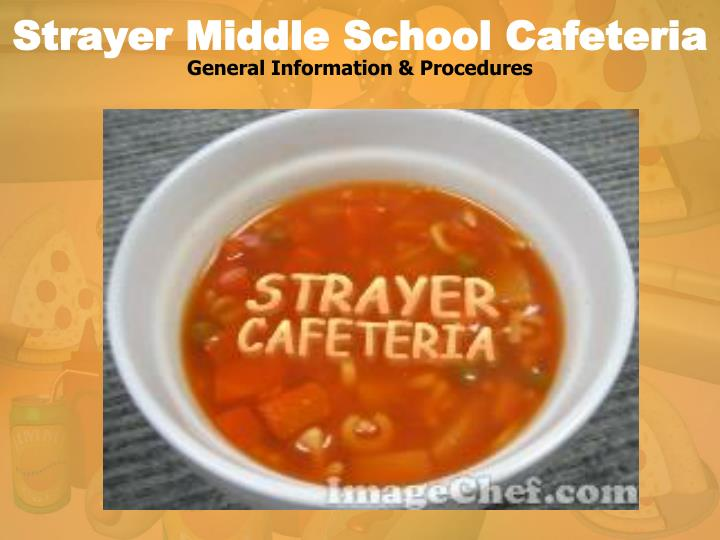 strayer middle school cafeteria n.