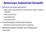 american industrial growth