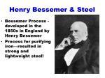 henry bessemer steel