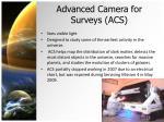 advanced camera for surveys acs