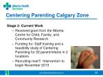 centering parenting calgary zone