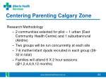 centering parenting calgary zone1