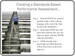 creating a standards based performance assessment