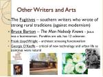 other writers and arts