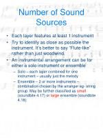 number of sound sources