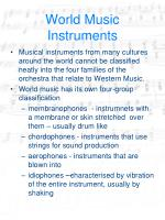 world music instruments