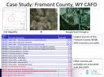 case study fremont county wy cafo