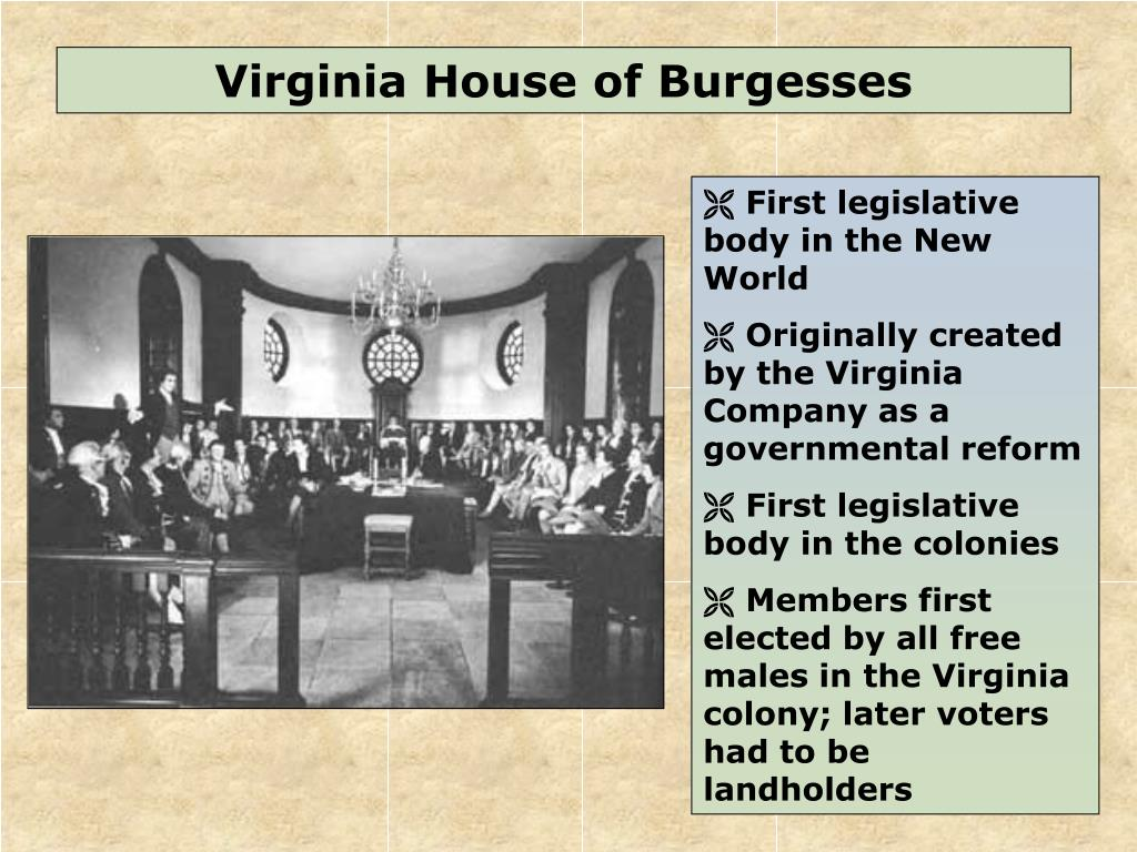 Ppt Virginia House Of Burgesses Powerpoint Presentation Free Download Id 2211493