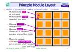 principle module layout