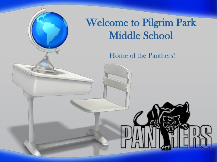 welcome to pilgrim park middle school n.