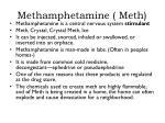methamphetamine meth
