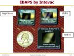 ebaps by intevac