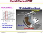 metal channel pmt