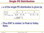 single pe distribution1