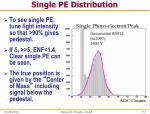 single pe distribution2