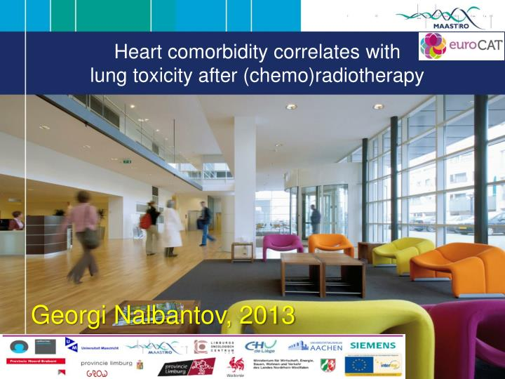heart comorbidity correlates with lung toxicity after chemo radiotherapy n.