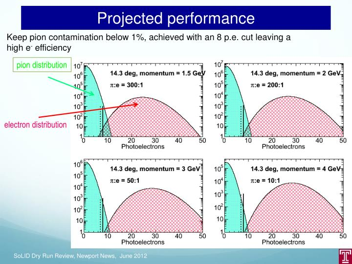 Projected performance
