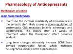 pharmacology of antidepressants1