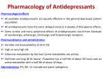 pharmacology of antidepressants2
