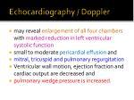 echocardiography doppler