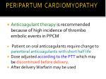 peripartum cardiomyopathy7