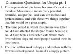 discussion questions for utopia pt 1