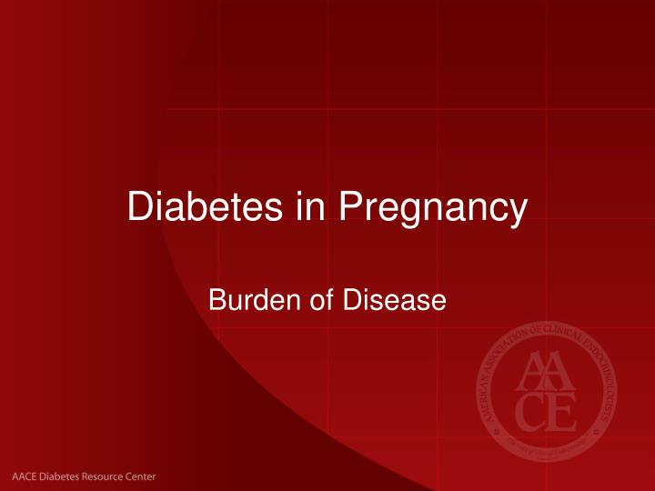 diabetes in pregnancy n.