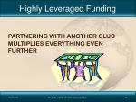 highly leveraged funding2