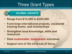 three grant types2