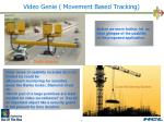 video genie movement based tracking