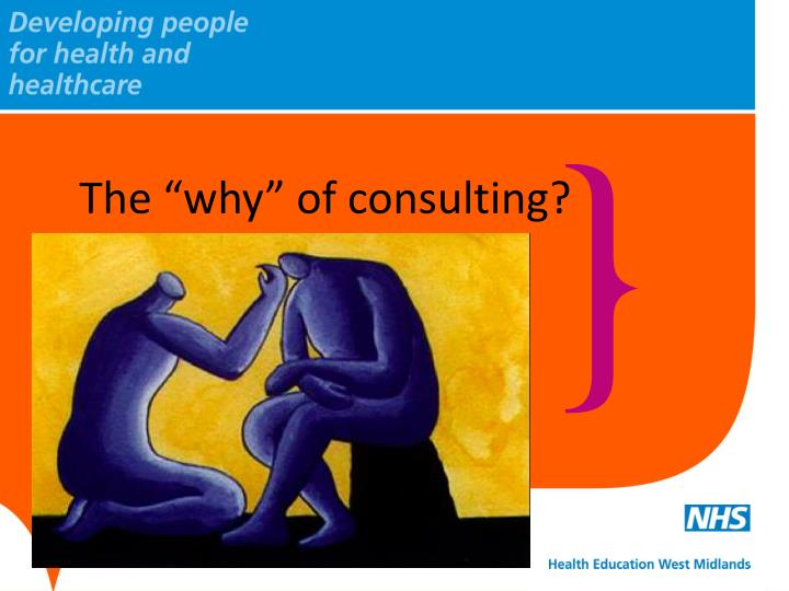 the why of consulting n.