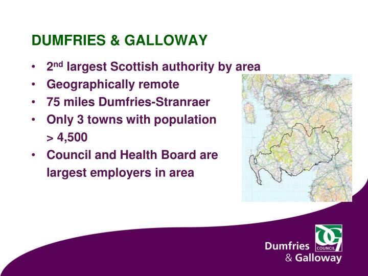 Dumfries galloway