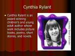 cynthia rylant1