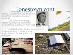 jonestown cont