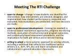 meeting the rti challenge1