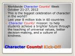 character counts kick off1