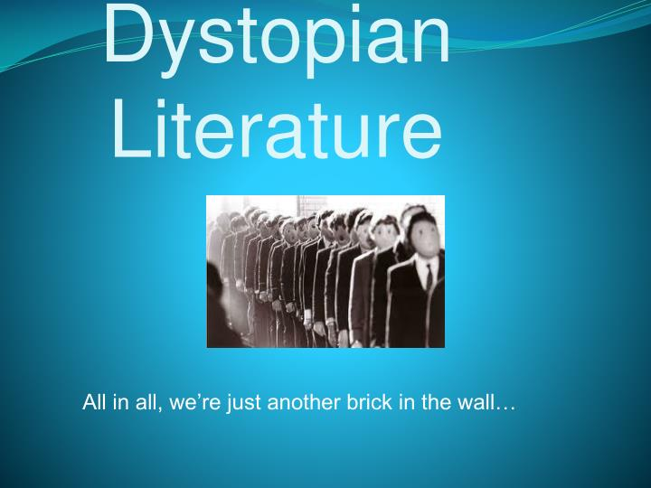 dystopian literature essays Dystopian literature [10th grade]  expository essay -develop a thesis -analyze dystopian literature by comparison -analyze problems of dystopian literature and.